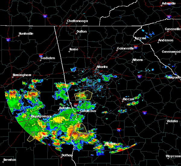 Radar Image for Severe Thunderstorms near Gay, GA at 5/22/2020 5:42 PM EDT