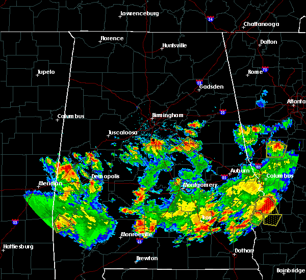 Radar Image for Severe Thunderstorms near Shelby, AL at 5/22/2020 4:56 PM CDT