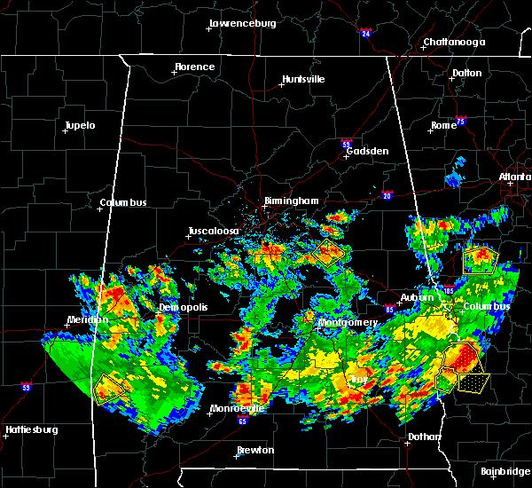 Radar Image for Severe Thunderstorms near Pelham, AL at 5/22/2020 4:56 PM CDT