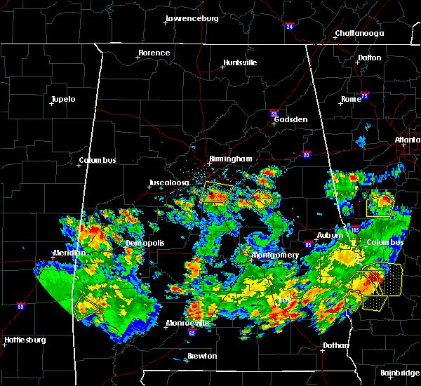 Radar Image for Severe Thunderstorms near Pelham, AL at 5/22/2020 4:59 PM CDT