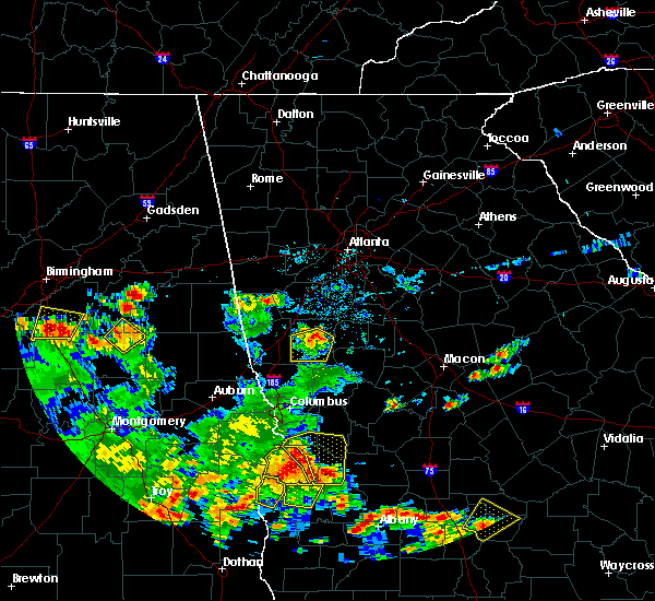 Radar Image for Severe Thunderstorms near Concord, GA at 5/22/2020 6:03 PM EDT