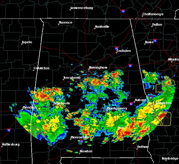 Radar Image for Severe Thunderstorms near Pelham, AL at 5/22/2020 5:15 PM CDT