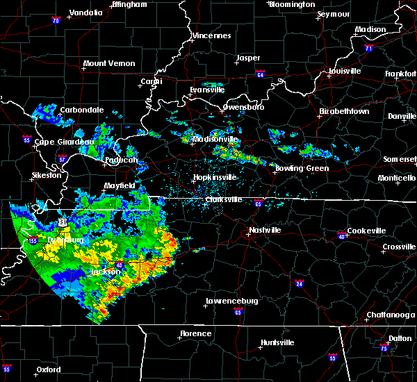 Radar Image for Severe Thunderstorms near White Bluff, TN at 5/22/2020 6:17 PM CDT