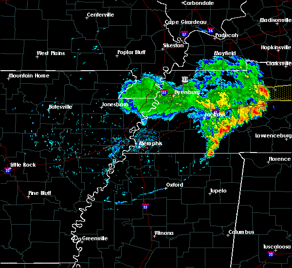 Radar Image for Severe Thunderstorms near Scotts Hill, TN at 5/22/2020 6:22 PM CDT