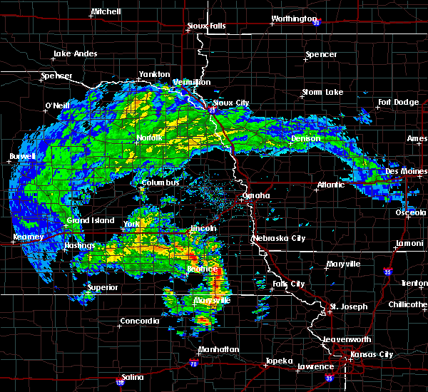 Radar Image for Severe Thunderstorms near Firth, NE at 5/22/2020 6:30 PM CDT