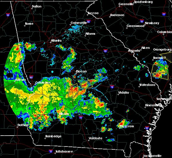 Radar Image for Severe Thunderstorms near Allentown, GA at 5/22/2020 7:46 PM EDT