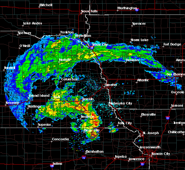 Radar Image for Severe Thunderstorms near Firth, NE at 5/22/2020 6:59 PM CDT