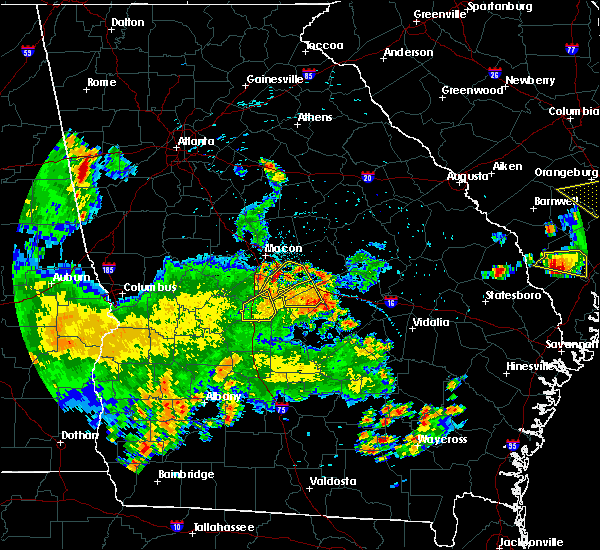 Radar Image for Severe Thunderstorms near Unadilla, GA at 5/22/2020 8:09 PM EDT