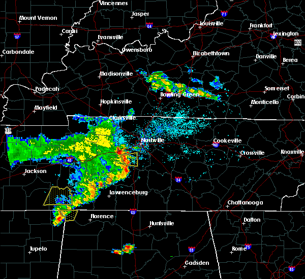 Radar Image for Severe Thunderstorms near Spring Hill, TN at 5/22/2020 7:30 PM CDT