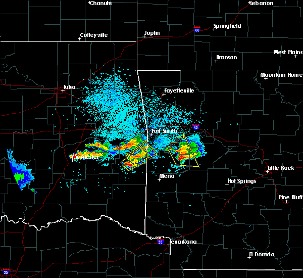 Radar Image for Severe Thunderstorms near Rock Island, OK at 5/22/2020 8:07 PM CDT