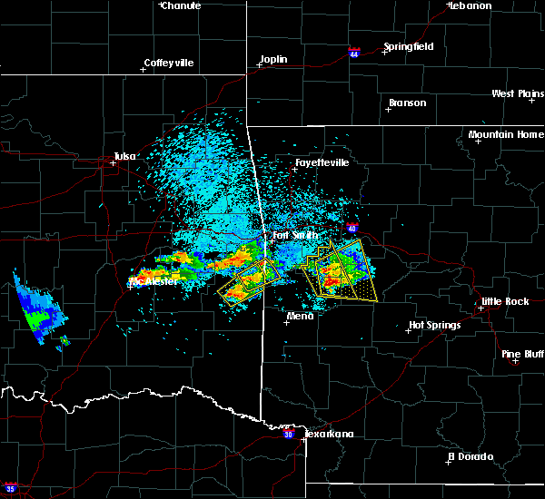 Radar Image for Severe Thunderstorms near Scranton, AR at 5/22/2020 8:10 PM CDT