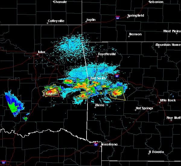 Radar Image for Severe Thunderstorms near Corinth, AR at 5/22/2020 8:37 PM CDT