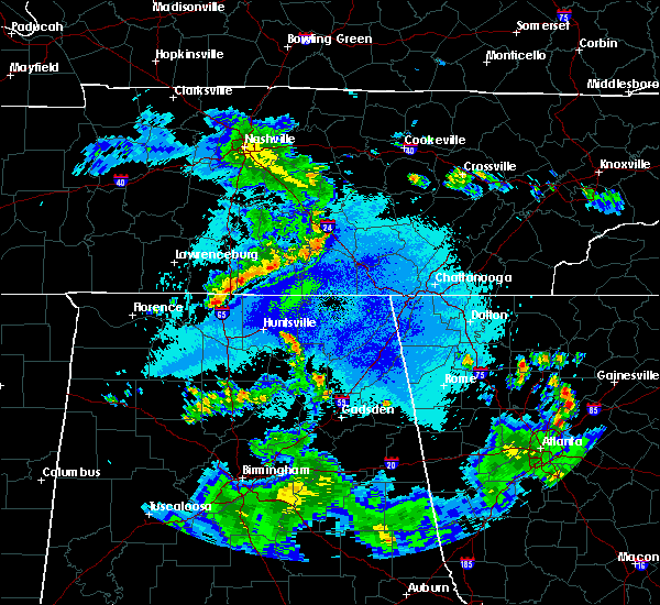 Radar Image for Severe Thunderstorms near Decherd, TN at 5/22/2020 9:03 PM CDT