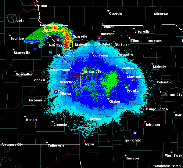 Radar Image for Severe Thunderstorms near Rosendale, MO at 5/22/2020 9:48 PM CDT