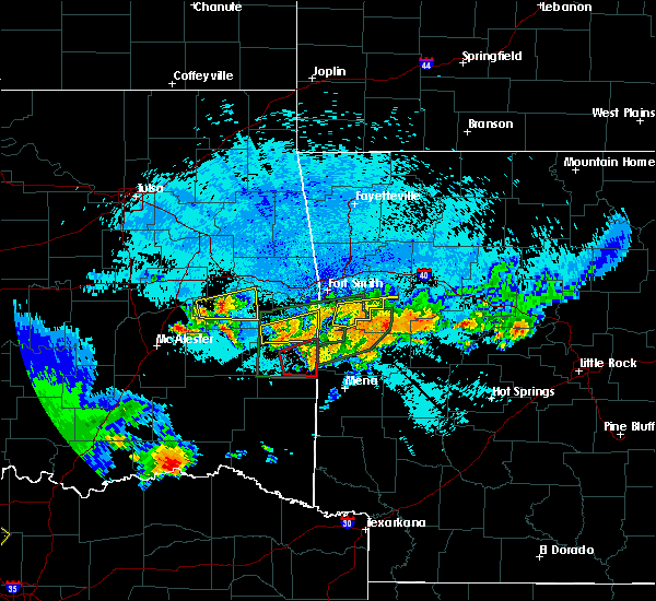 Radar Image for Severe Thunderstorms near Sawyer, OK at 5/22/2020 11:14 PM CDT