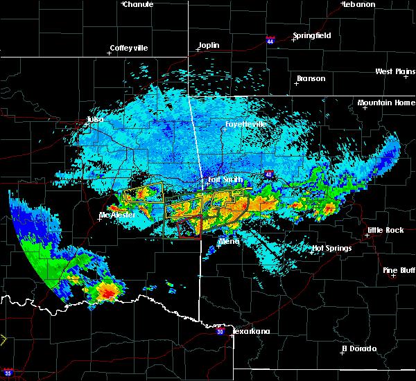 Radar Image for Severe Thunderstorms near Soper, OK at 5/22/2020 11:14 PM CDT