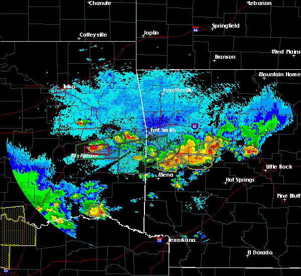 Radar Image for Severe Thunderstorms near Sawyer, OK at 5/22/2020 11:53 PM CDT
