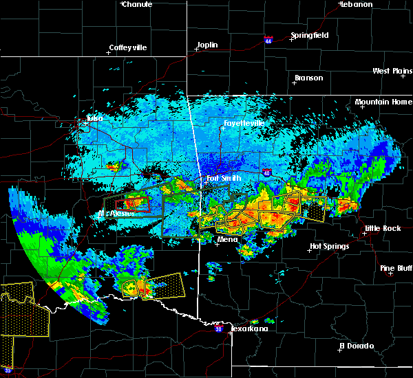 Radar Image for Severe Thunderstorms near Plainview, AR at 5/23/2020 12:00 AM CDT