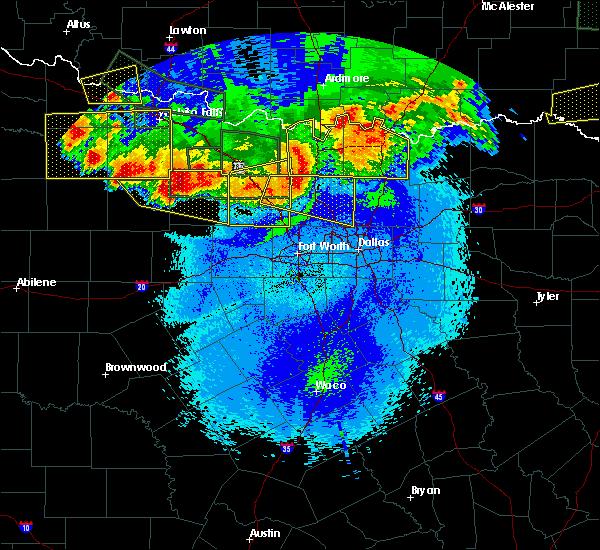 Radar Image for Severe Thunderstorms near Kenefic, OK at 5/23/2020 12:04 AM CDT