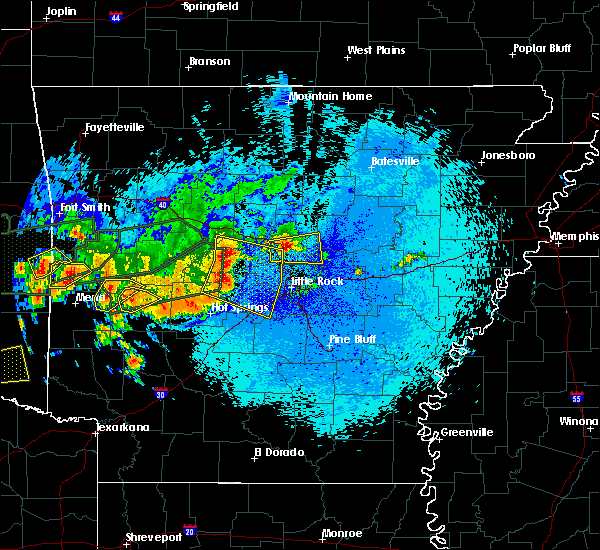 Radar Image for Severe Thunderstorms near Little Rock, AR at 5/23/2020 12:51 AM CDT