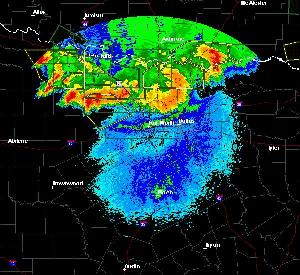 Radar Image for Severe Thunderstorms near Oakland, OK at 5/23/2020 12:51 AM CDT