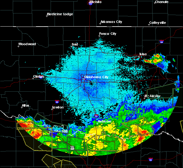 Radar Image for Severe Thunderstorms near Caney, OK at 5/23/2020 1:39 AM CDT