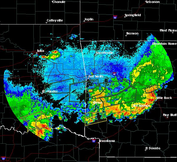Radar Image for Severe Thunderstorms near Sawyer, OK at 5/23/2020 1:46 AM CDT