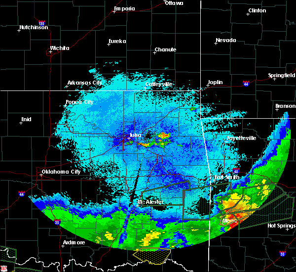 Radar Image for Severe Thunderstorms near Leach, OK at 5/23/2020 1:55 AM CDT