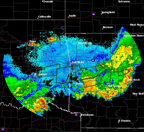 Radar Image for Severe Thunderstorms near Sawyer, OK at 5/23/2020 2:08 AM CDT