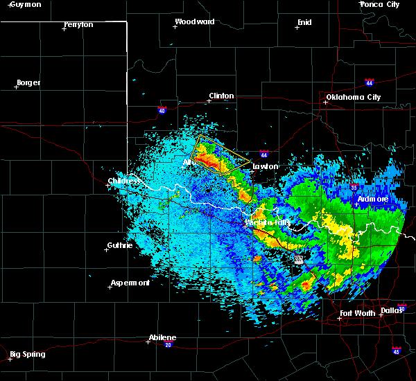 Radar Image for Severe Thunderstorms near Roosevelt, OK at 5/23/2020 5:28 AM CDT