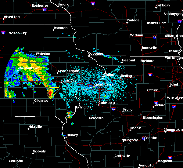 Radar Image for Severe Thunderstorms near Wellman, IA at 5/23/2020 6:45 AM CDT