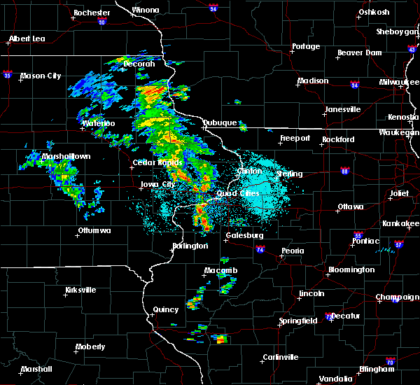 Radar Image for Severe Thunderstorms near Reynolds, IL at 5/23/2020 10:31 AM CDT