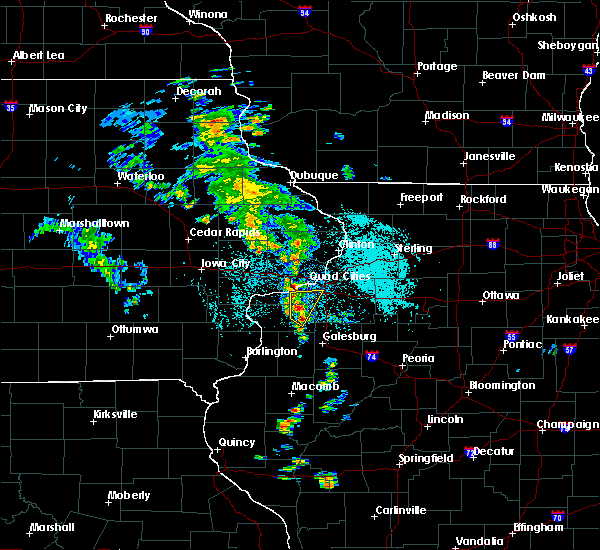 Radar Image for Severe Thunderstorms near Moline, IL at 5/23/2020 10:39 AM CDT