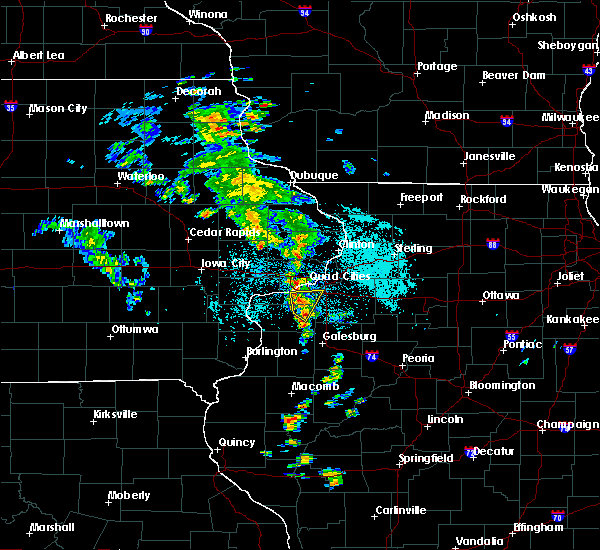 Radar Image for Severe Thunderstorms near Moline, IL at 5/23/2020 10:44 AM CDT