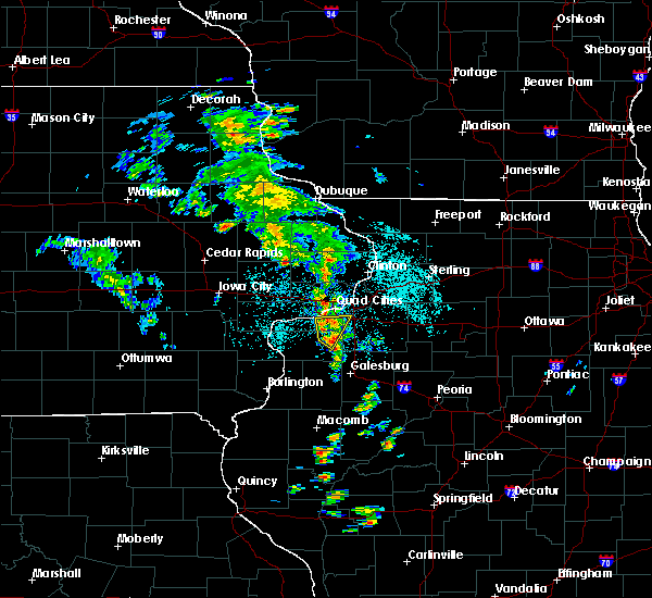 Radar Image for Severe Thunderstorms near Moline, IL at 5/23/2020 10:53 AM CDT