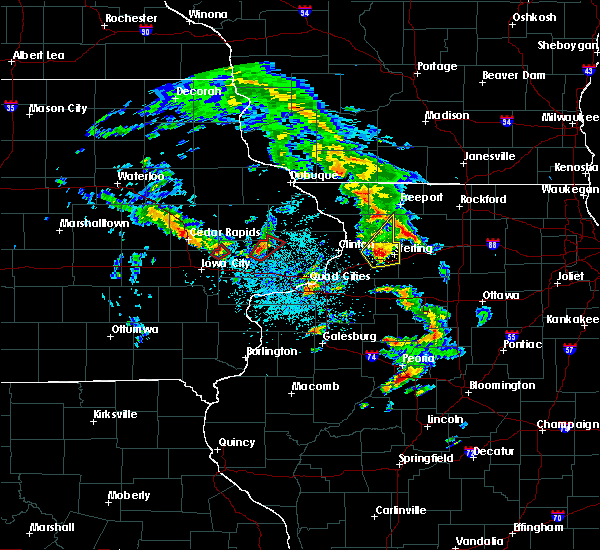 Radar Image for Severe Thunderstorms near Morley, IA at 5/23/2020 12:53 PM CDT