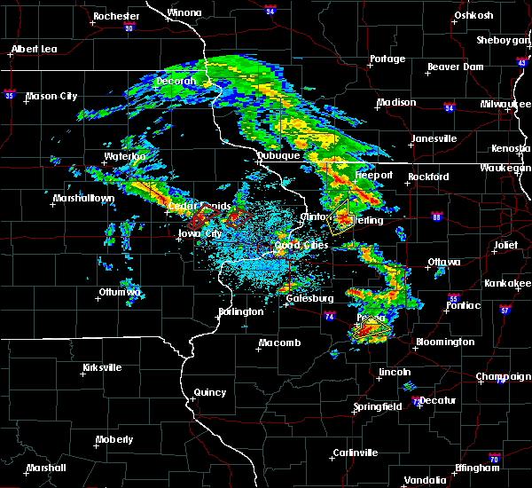 Radar Image for Severe Thunderstorms near Cleveland, IL at 5/23/2020 1:02 PM CDT