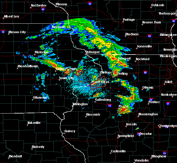 Radar Image for Severe Thunderstorms near Cleveland, IL at 5/23/2020 1:13 PM CDT