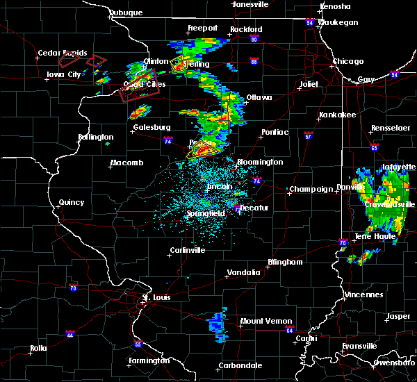 Radar Image for Severe Thunderstorms near East Peoria, IL at 5/23/2020 1:16 PM CDT