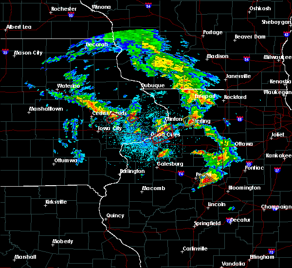 Radar Image for Severe Thunderstorms near Morley, IA at 5/23/2020 1:21 PM CDT