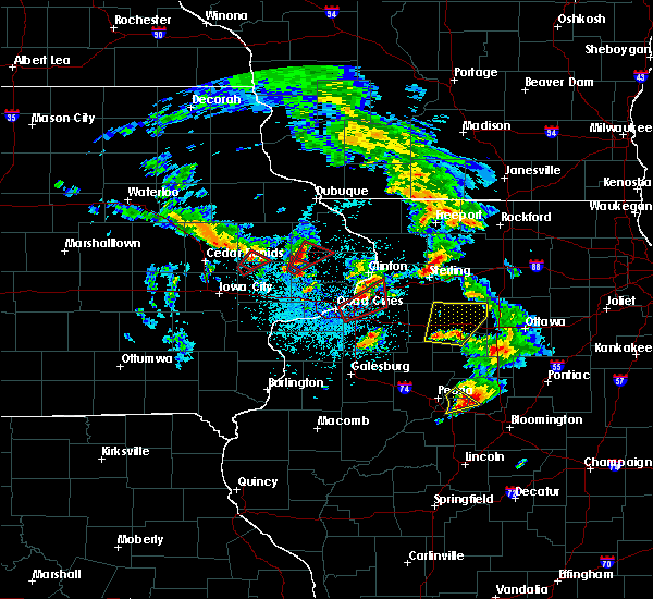 Radar Image for Severe Thunderstorms near Cleveland, IL at 5/23/2020 1:23 PM CDT