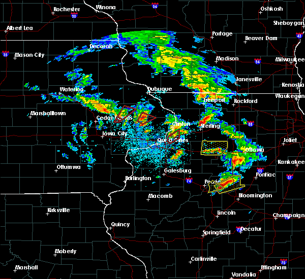 Radar Image for Severe Thunderstorms near Arlington, IL at 5/23/2020 1:34 PM CDT