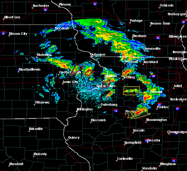 Radar Image for Severe Thunderstorms near Monticello, IA at 5/23/2020 1:41 PM CDT