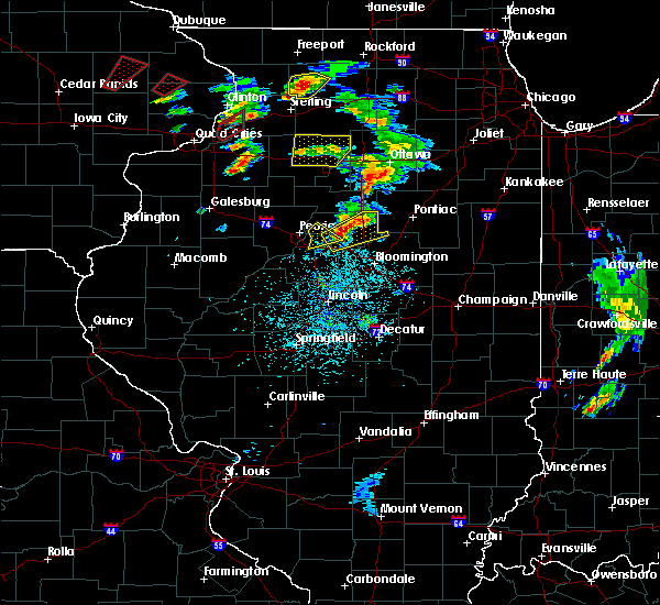 Radar Image for Severe Thunderstorms near East Peoria, IL at 5/23/2020 1:41 PM CDT