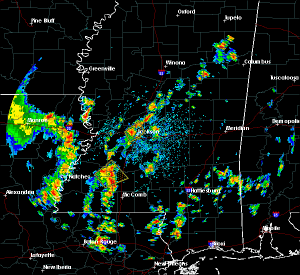 Radar Image for Severe Thunderstorms near Epps, LA at 5/23/2020 1:50 PM CDT
