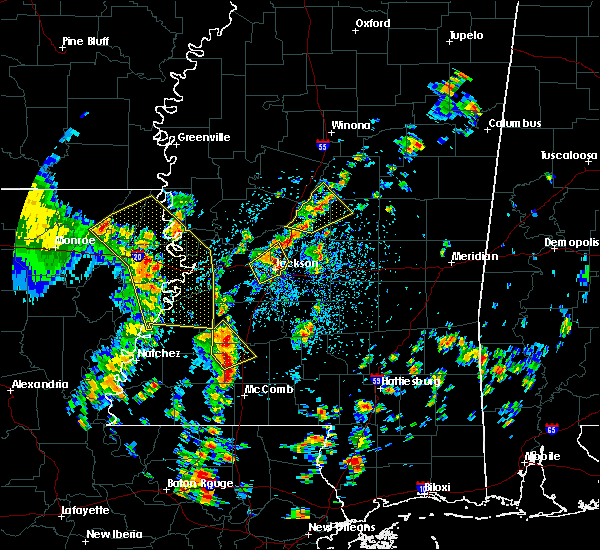 Radar Image for Severe Thunderstorms near Flowood, MS at 5/23/2020 2:01 PM CDT