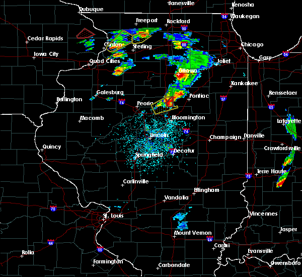 Radar Image for Severe Thunderstorms near Pontiac, IL at 5/23/2020 2:05 PM CDT