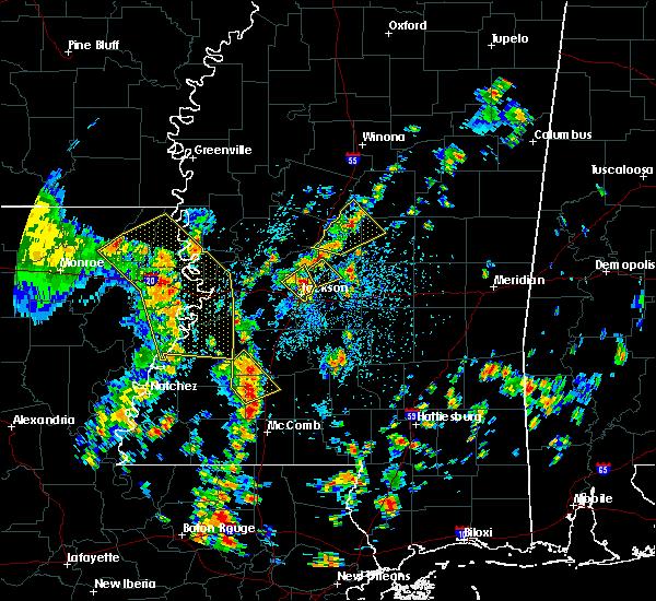 Radar Image for Severe Thunderstorms near Ridgeland, MS at 5/23/2020 2:08 PM CDT