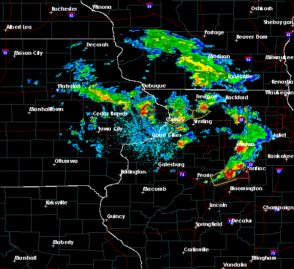 Radar Image for Severe Thunderstorms near Adeline, IL at 5/23/2020 2:10 PM CDT