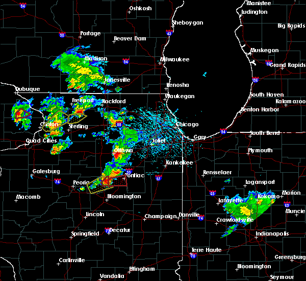 Radar Image for Severe Thunderstorms near Yorkville, IL at 5/23/2020 2:11 PM CDT